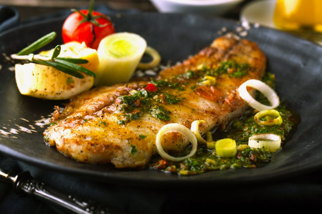 Grilled Fish With Capers