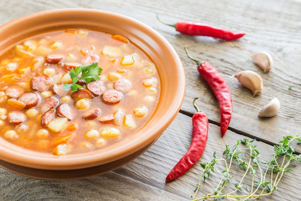Tuscan Sausage And Kale Soup