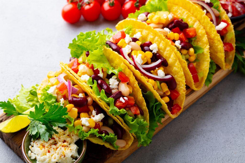 Breakfast Veggie Tacos