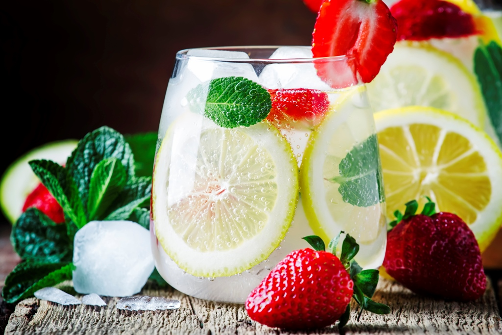 Strawberry-Lemonade Party Punch